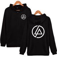 Linkin Park Kobiety/mężczyźni Bluza Z Kapturem Bluza Na Zamek Błyskawiczny Moda Hot Music Band Plus Rozmiar 4XL Hiphop Style