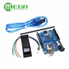 1PCS FPM10A Fingerprint Module + 1pcs UNO R3 MEGA328P with usb cable