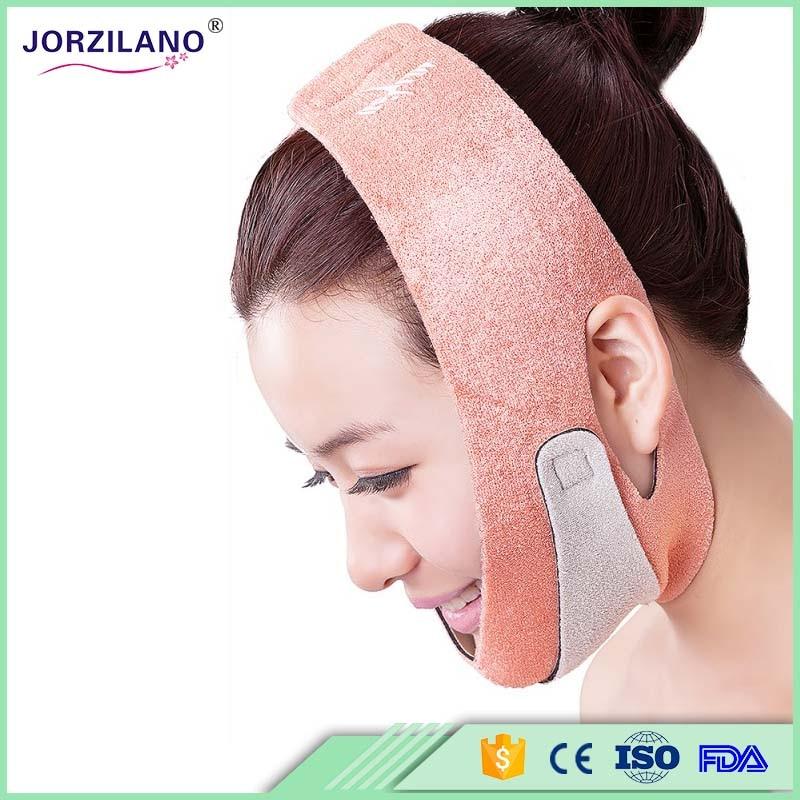 JORZILANO Health Care Thin Face Mask Slimming Facial Thin Masseter Double Chin Skin Care Thin Face Bandage Belt LH6