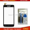 Бесплатные Инструменты для ПОДЕЛОК + Оригинальный Новый для Сенсорного Экрана Lenovo S960 Стекло Емкостный датчик для lenovo s960 Сенсорный Экран панели Черный