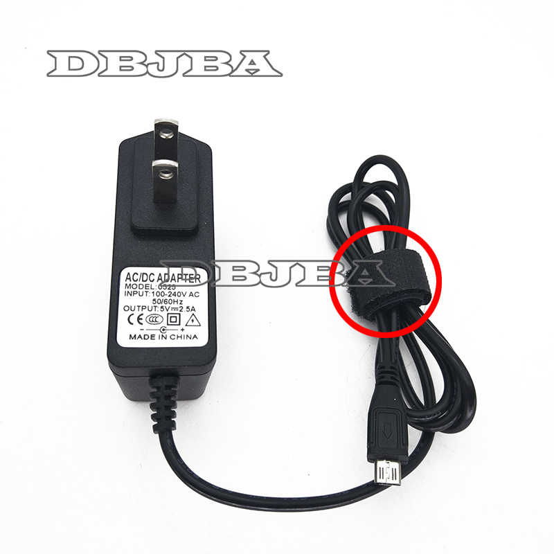 5 stks Universele 5 v 2.5A Micro USB Lader Adapter Voeding voor Tablet PC Teclast P85 X98 Air 3g P88 Dual Core Onda V975m V973