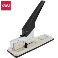 DELI Manual Stapler Office Binding Machine Labor saving Grapadora 210 Sheet Capacity Heavy Duty Stapler Office Binding Supplies