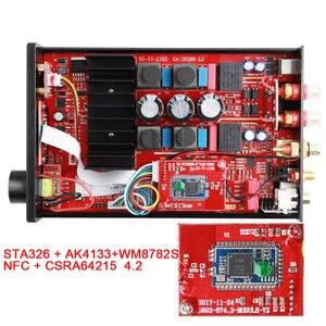 Image 4 - FX Audio D802C PRO Drahtlose Bluetooth 4,2 Unterstützung APTX NFC USB/AUX/Optical/Koaxial Reine Digital audio Verstärker 24Bit 192Khz