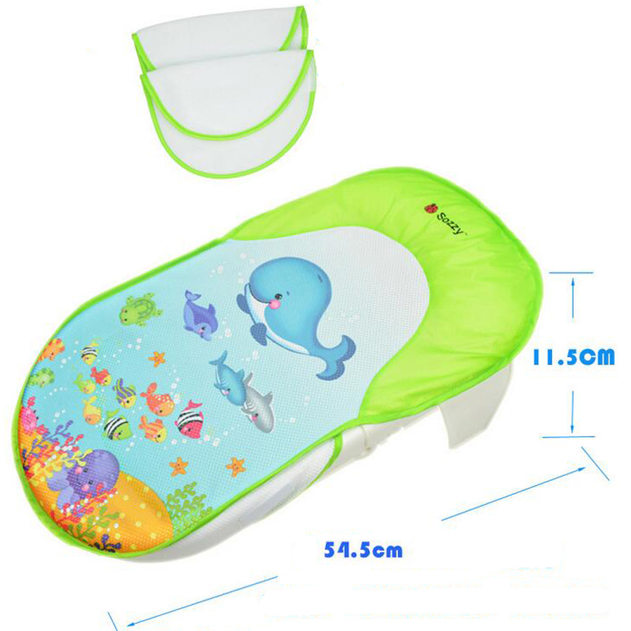 SOZZY collapsible baby bath bed bath tub bath chair bath towels Safe ...