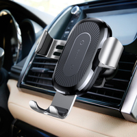 Baseus Fast QI Wireless Charger Gravity Car Mount Air Vent Holder Stand For IPhone X 7