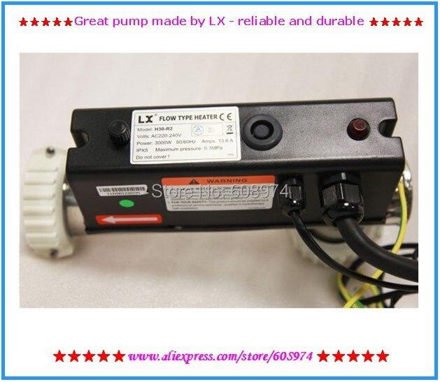 3KW spa heizung LX H30 R2 whirlpool heizung L Form H30 R2 3KW LX Chinesischen Heizung Für Whirlpools Und Spas-in Erzeugung von Strom aus Heimwerkerbedarf bei AliExpress - 11.11_Doppel-11Tag der Singles 1