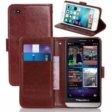 GUCOON Vintage Wallet Case for BlackBerry Z30 5.0inch PU Leather Retro Flip Cover Magnetic Fashion Cases Kickstand Strap