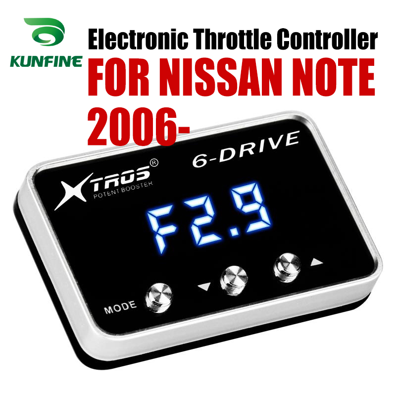 Car Electronic Throttle Controller Racing Accelerator Potent Booster For NISSAN NOTE 2006-2019 Tuning Parts AccessoryCar Electronic Throttle Controller Racing Accelerator Potent Booster For NISSAN NOTE 2006-2019 Tuning Parts Accessory