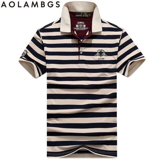 Camisas de Polo Hombres de La Marca de Moda de Algodón A Rayas Polos Slim Fit verano de Manga Corta Ocasional Masculina Camisas de Calidad Superior Más Tamaño 3XL