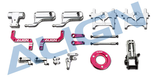 Align Trex 470LM Metal Upgrade Set 47H015XXW Trex 470 Spare Parts Free Shipping with Tracking trex 700 carbon main frame l 2 0mm hn7026 align trex 700 parts free shipping with tracking
