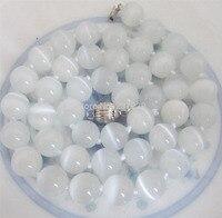 FRETE GRÁTIS >>>@@ ^^^^ Natural de preços Por Atacado S 10mm White Opal Rodada Contas Gems Colar Pingente de 18