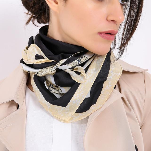 70*70 cm Bufanda azafata Ocupación señora neckchief