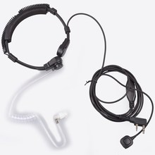 Baofeng Walkie Talkie Extendable Throat Microphone Mic Earpiece Headset for CB Radio UV-5R UV-5RE Plus UV-B5 UV-B6 UFO-1