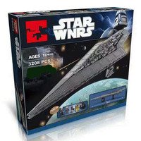 the Starwars Emperor fighters ship 05028 Building Blocks Bricks legoing star wars Destroyer 10030 10221Wars