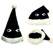 Action Figure Uzumaki Naruto Black nightcap Anime winter hat PVC 38cm gift Cartoon clothes Collectible Model kids Anime