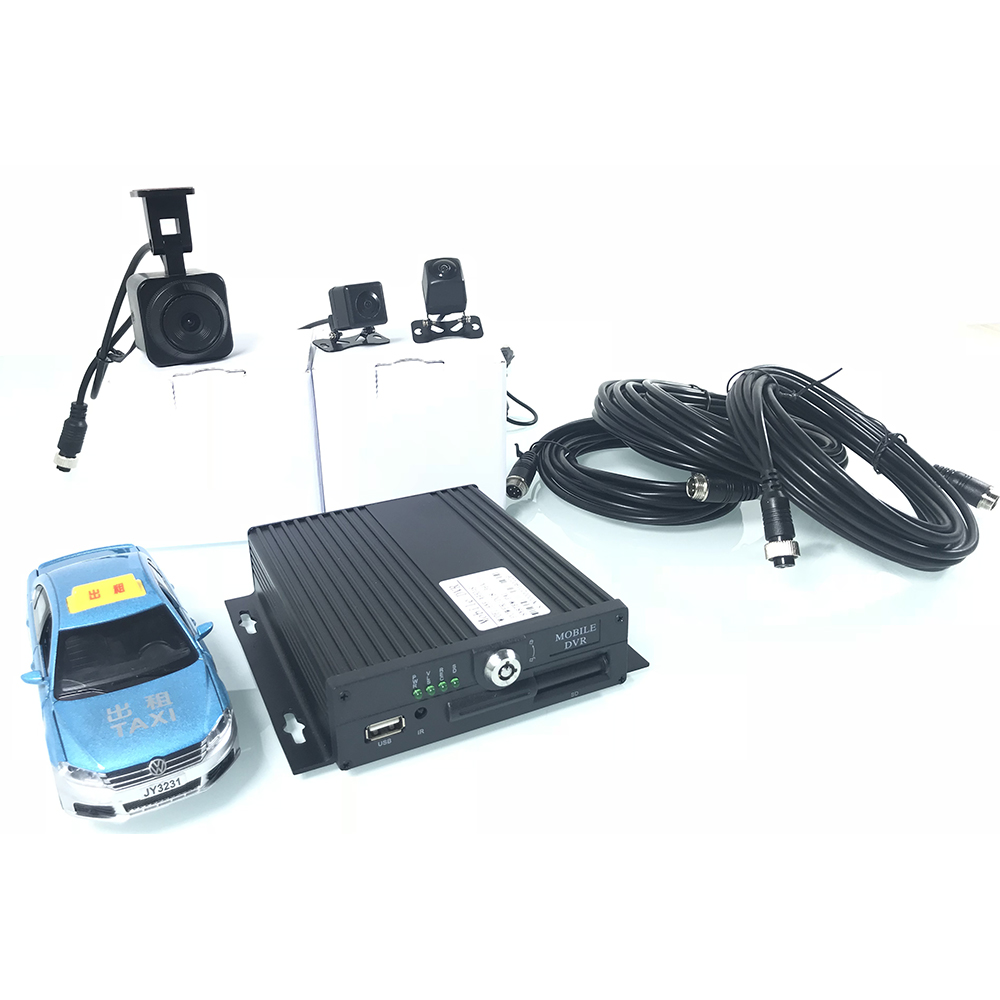 CSMV6 monitoring platform Coaxial AHD4 channel monitoring SD card host Taxi Monitoring Suite Cash transport vehicle school bus in Car Multi angle Camera from Automobiles Motorcycles