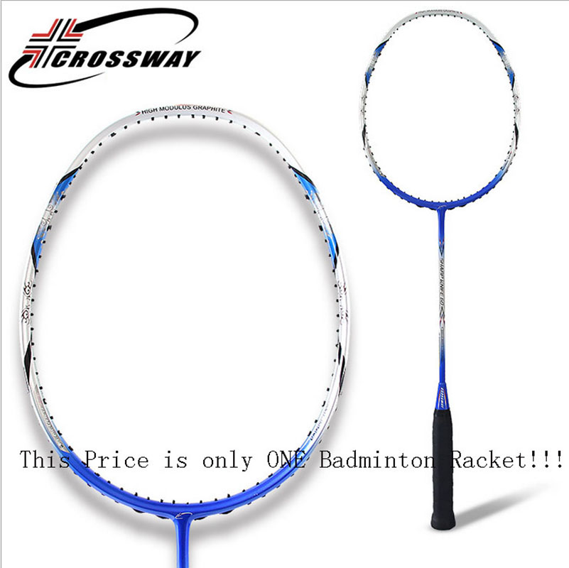 все цены на  CROSSWAY Carbon Light Weight Competition Badminton Rackets YMQ-SK60  онлайн