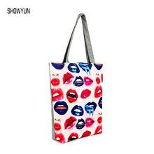 Neue Ankunft Einfachen Stil Klassische Leinwand Einkaufstasche Druck Designer Schulter frauen Handtaschen 6 Muster Für Wählen # SY0029