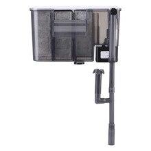 Фильтр для аквариума внешний подвесной фильтр для аквариума воздушный насос поверхностный скиммер