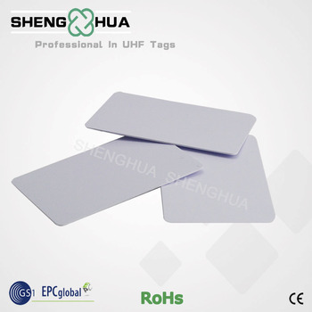 50pcs/pack 915MHz RFID Smart Whindsield Card Contactless PVC with Alien H3 Chip for Security - sale item Access Control
