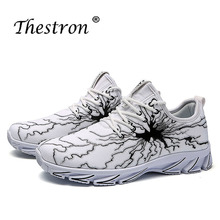 2019 Thestron Man Running Shoes China Breathable Jogging Male Sneakers Spring Autumn Mens Athletic Black White