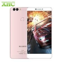"""4G BLUBOO Podwójny Telefon komórkowy 16 GB Dual Tylne Kamery Podwójną Lampą Błyskową 5.5 """"Android 6.0 3000 mAh MTK6737T Quad Core RAM 2G OTG Smartphone"""