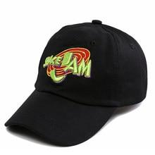 ed648014d1e897 2018 Jordans Movie Space Jam Baseball Cap Fashion Curved Chapeau Dad Hats  Casquette Brand Snapback Hip Hop Bone Men Women
