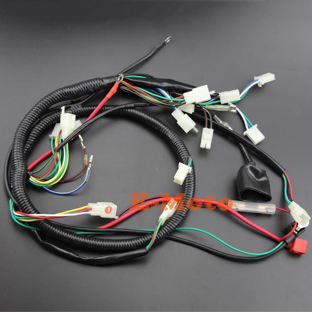 buggy wiring harness loom gy6 engine 125 150cc quad atv electric start stator 8 coil spark plug go kart kandi go kart dazon in motorbike ingition from  [ 1000 x 1000 Pixel ]