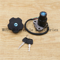 Motorcycles Ignition Switch Gas Cap Seat Key Lock Set For Yamaha Serow 225 XT225/ DT200 DT200R 1991 1994 92 93