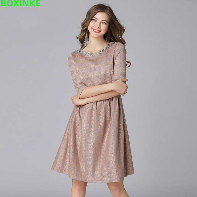 Plus Size Sale Vestido De Festa In Europe North And South America Are Cougar Dress Code Spring New Was Thin Fat Increase