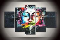 Buda Pintura Arte abstrata na Lona|Pintura e Caligrafia|Casa e Jardim -
