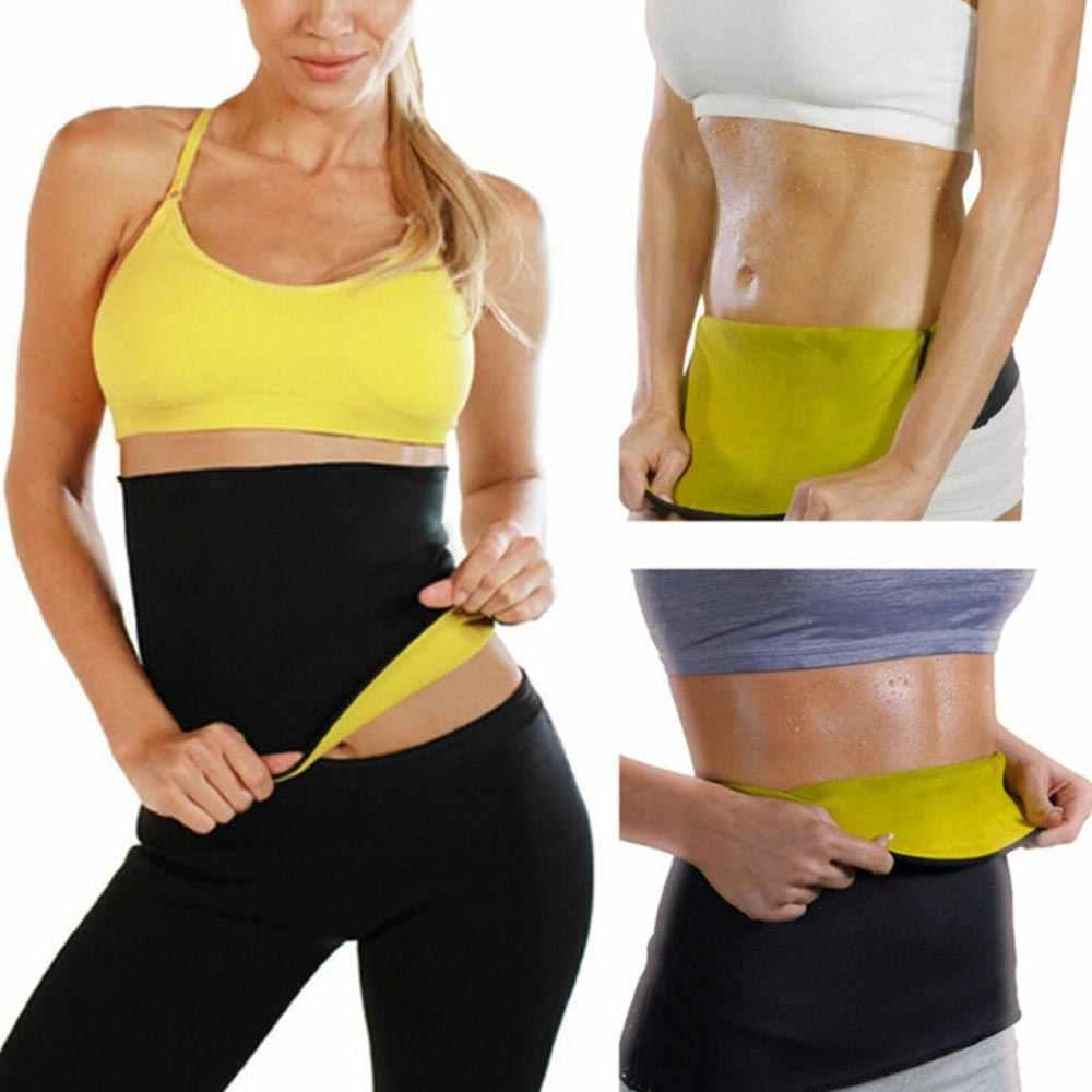 1 PC ใหม่ Neoprene Body Slimming เอวฟิตเนสโยคะกีฬาผู้หญิง