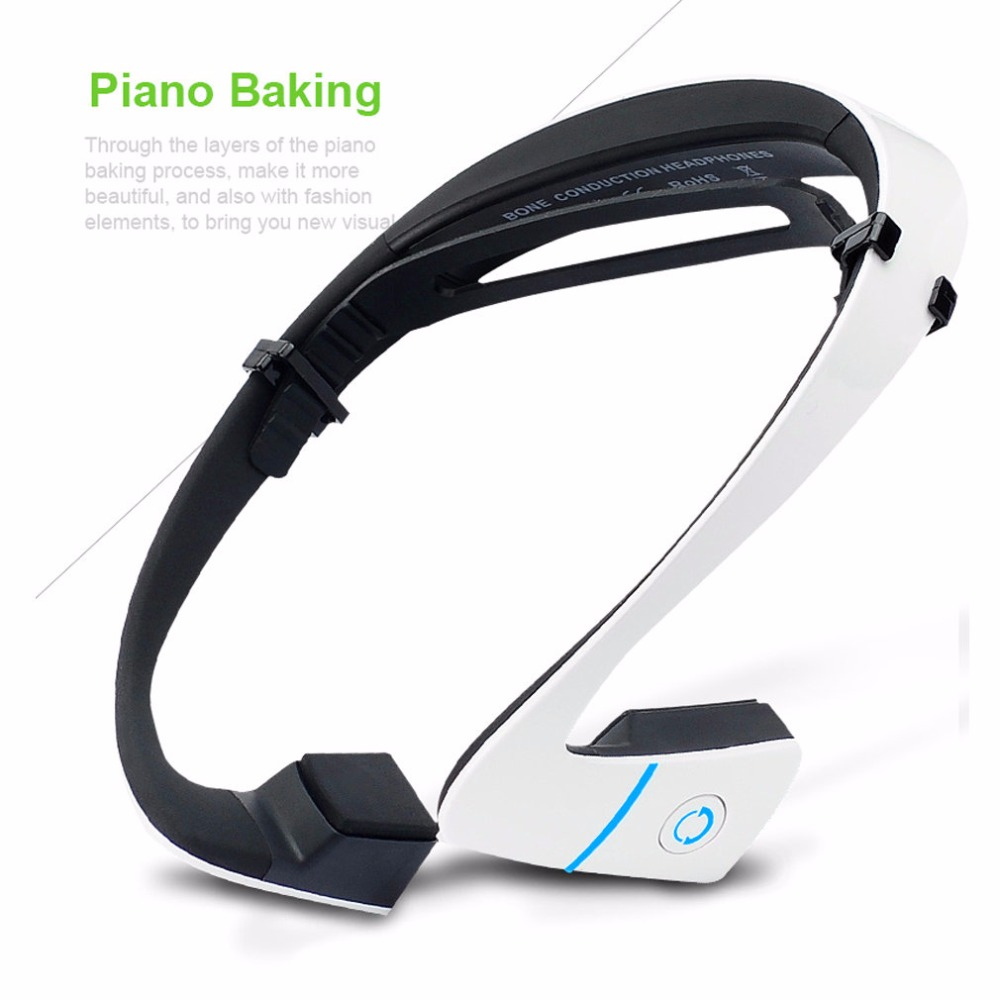 Prix pour Date LF-18 Sans Fil Bluetooth 4.0 Casque Stéréo Étanche courroie de Cou Casque Conduction Osseuse NFC Mains Libres Écouteur Intelligent