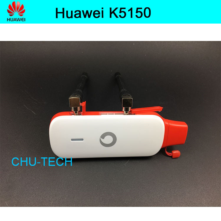 Unlocked New Arrival Huawei K5150 with Antenna 4G LTE 150Mbps USB Modem 4G LTE USB Dongle USB Stick PK E3372 E8372