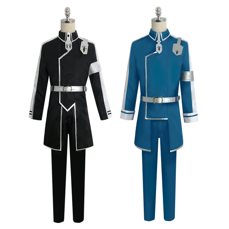 Sword Art Online Cosplay Costume Coat In Stock Anime  Kirito  Eugeo Synthesis  Cosplay Clothes