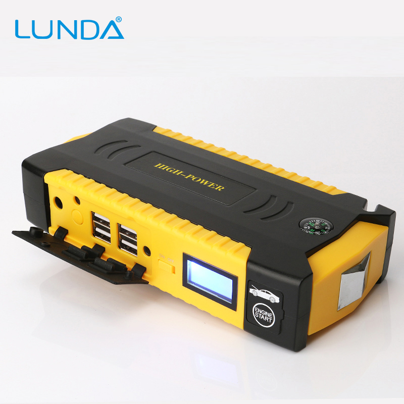 lunda 600a peak current portable car jump starter charger. Black Bedroom Furniture Sets. Home Design Ideas