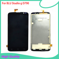 LCD Display For BLU Studio G D790 U L 790 Mobile Phone LCDs Touch Screen 100