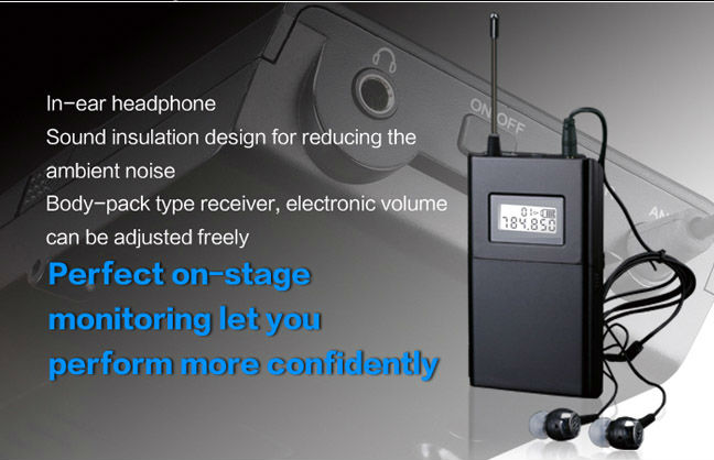 TAKSTAR WPM 200 single receiving including earphone Professional Wireless Monitor System receiver Original wholesale
