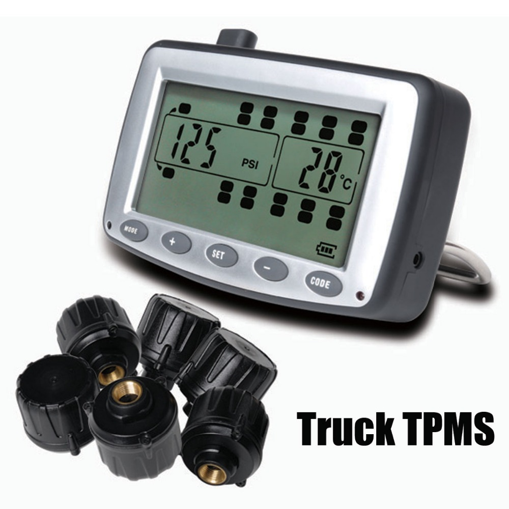 Tire Pressure Monitoring System >> Tire Pressure Monitoring System Car Tpms With 6 Pcs External Sensors