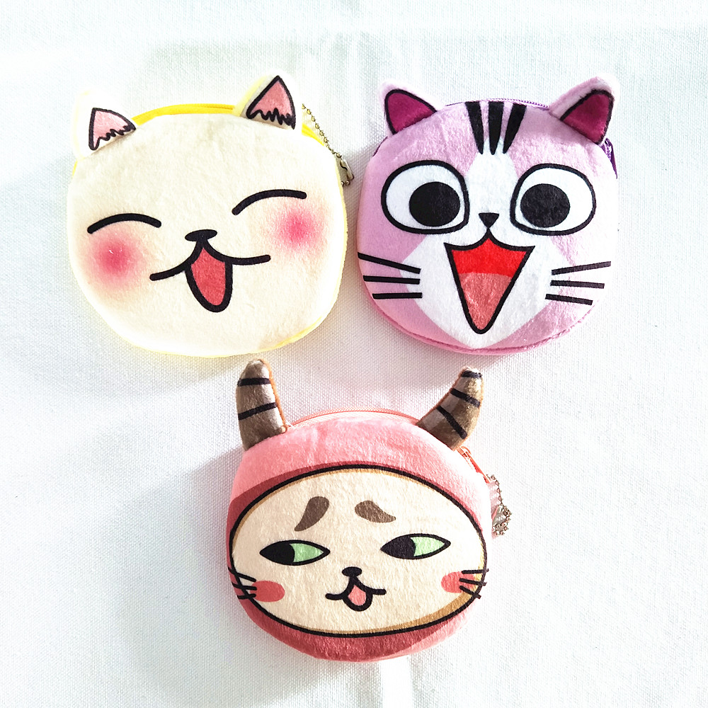 M091 Cute Cartoon Amazing Baby  Wallet Purse Cute Plush Coin Bag Girls Key Bag Cloth Girl Women Student Gift Wholesale m705 2018 cute cartoon women cloth bag fashion coin purses creative alpaca design handbag student girl women gift wholesale