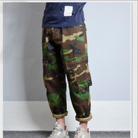 M 3XL New Camouflage Men S Pants Hip Hop Loose For Mens Pant Fashion Fitness Army