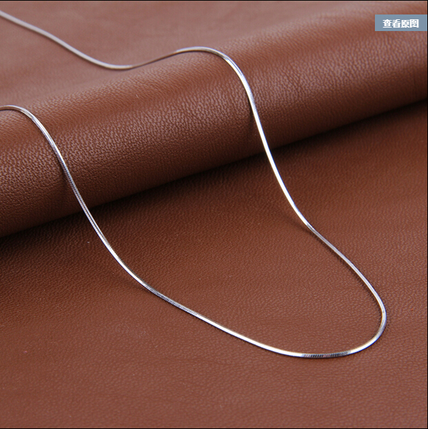 2017 High quality fashion hot sell snake chain 925 sterling s