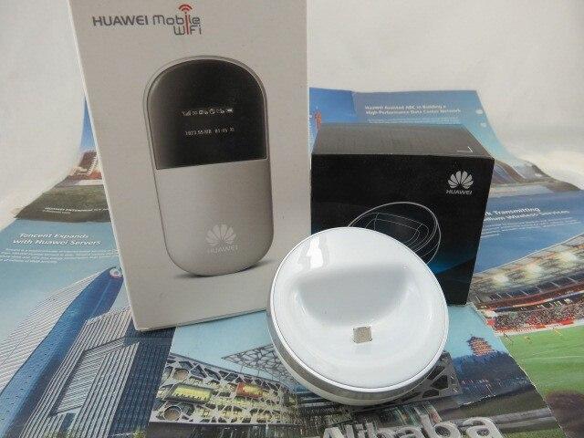 Разблокирована Huawei E586 21.6 Мбит 3 Г Беспроводной Wi-Fi Маршрутизатор карман Мифи Маршрутизатор 3 Г Модем с Док-Станции