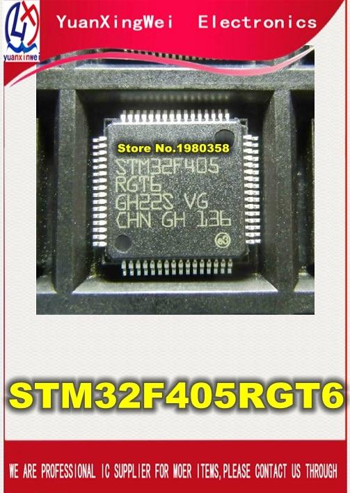 Free Shipping 1pcs/lot STM32F405RGT6 32F405RGT6 STM32F405 LQFP64 free shipping 1pcs lot sie20034 st dip8