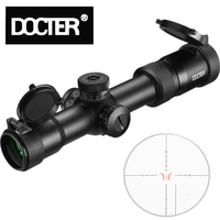 New Tactical 1.5 8X28 IR Rifle Optic Scope Sight Waterproof Shockproof with Fully Multi green Coated Optics for Archery Huntin