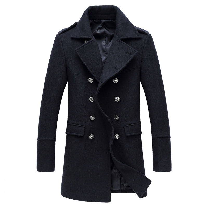 Compare Prices on Mens Peacoat Jacket- Online Shopping/Buy Low ...