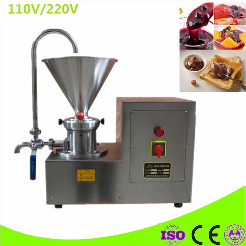 Hot Sale Peanut Butter Maker Commercial Sesame Butter Maker 2200W Nut Butter Grinder Peanut Butter Grinding Machine udmj 150 grain butter making machine cereal butter maker with motor