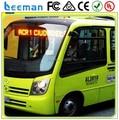 Programa de led sinais placa de mensagem, Tela de led de, Painel de led para ônibus