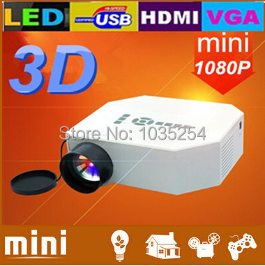 ФОТО Brand New! Mini LED Pico Entertainment Video Game Projector With HDMI+AV+USB+SD+VGA,Free Shipping!!