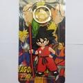 Dragon Ball Гоку Силикона брелок Фигурку Игрушки двусторонняя ПВХ Брелок Для Друга Лучший Подарок